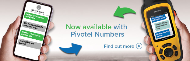 now available with pivotel numbers. find out more.