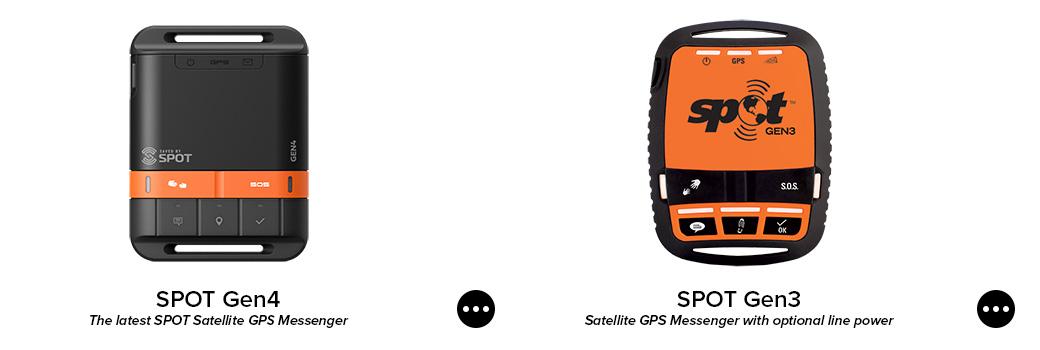 spot gen4 satellite gps messenger. spot gen3 satellite gps messenger