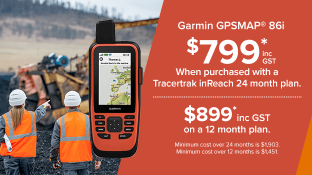 garmin gpsmap 86i. save when purchased with a tracertrak plan.